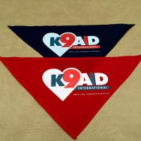 Blue & Red Bandanas
